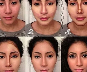 girl, how to, and makeup image