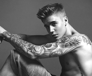 Hot, justin bieber, and Calvin Klein image