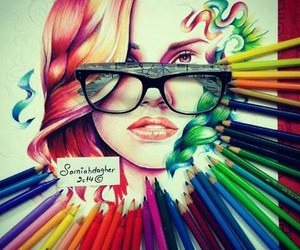 art, beautiful, and colorful image