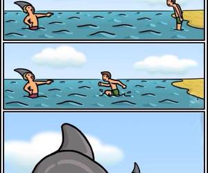 beach, hilarious, and joke image