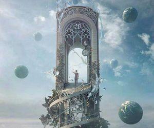 art, fantasy, and sky image