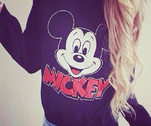 mickey, hair, and style image