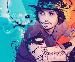 art and johnny depp image
