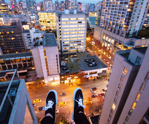 city and vans image