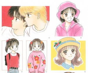girl, happy, and mangas image