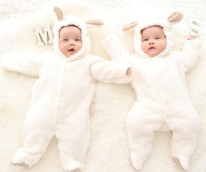 baby, cosy, and so cute image