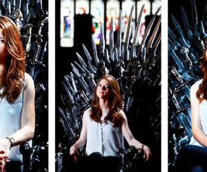 leslie, rose, and game of thrones image