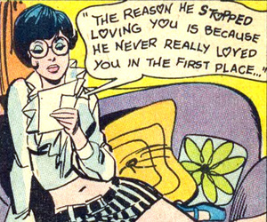 comic, love, and quotes image