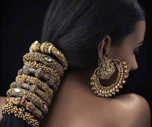 indian, jewelry, and beautiful image