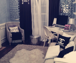 room, chanel, and home image