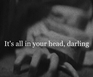 depressed, sad, and quote image