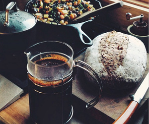 coffee, dinner, and food image