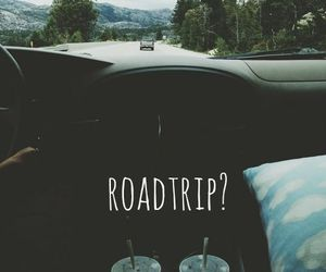 car, roadtrip, and summer image