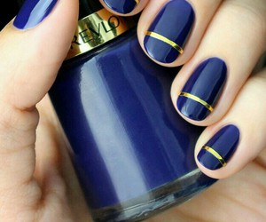 Bleu, ongles, and revlon image