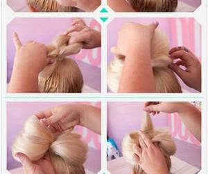 hair, lindo, and facil image