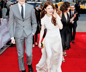game of thrones, jack gleeson, and rose leslie image