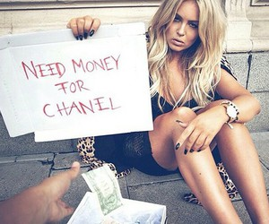 art, chanel, and funny image