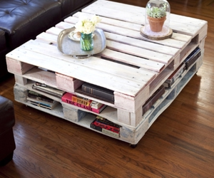 pallet, furniture, and home decor image