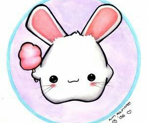 bunny and kawaii image