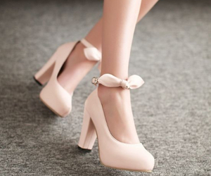 pink, shoes, and stiletto image