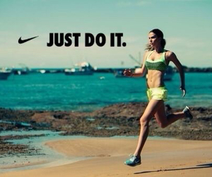 fitness, motivation, and running image