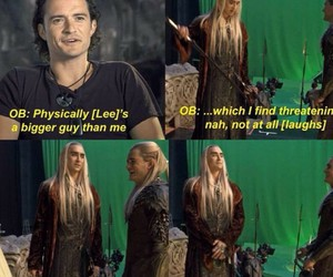 Legolas, the hobbit, and thranduil image