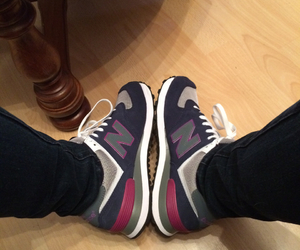 sport and new balance. shoes image