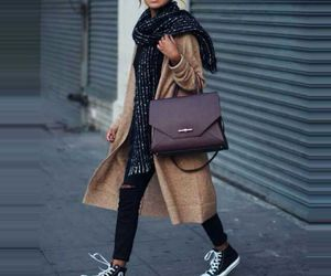 chic, sneakers, and clothing image