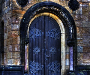 antique, door, and architecture image