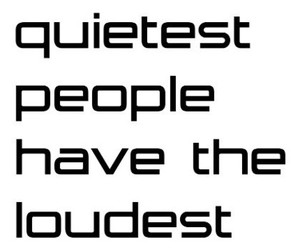 quote, people, and quiet image