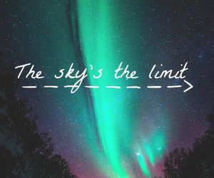the sky is the limit image