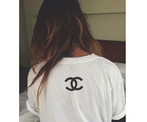 chanel, hair, and shirt image