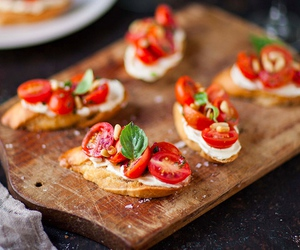 food, yummy, and tomato image