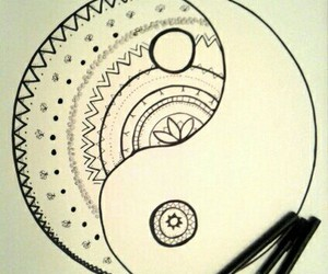 black and white, inspiration, and lines image