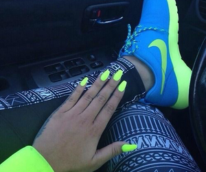 neon and nikes image