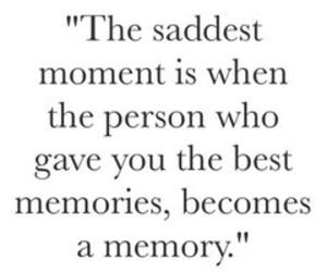 memory and sad image