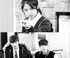 k drama, park shin hye, and the heirs image