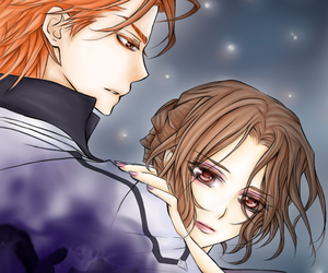 blood, love, and vampire knight image