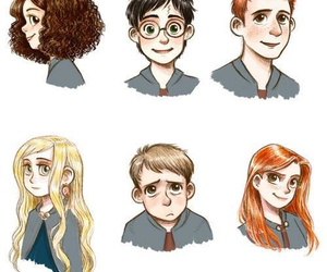 harry potter, ginny weasley, and luna lovegood image