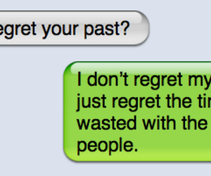 past, regret, and life image