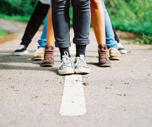 shoes, friends, and photography image