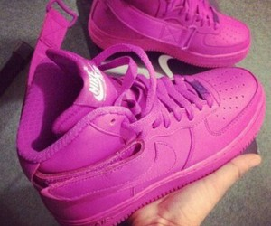 shoes, purple, and sneakers image