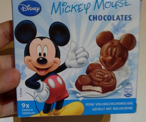 mickey mouse and chocolate image