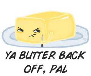 butter and funny image