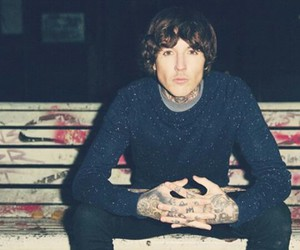 oliver sykes, bring me the horizon, and band image