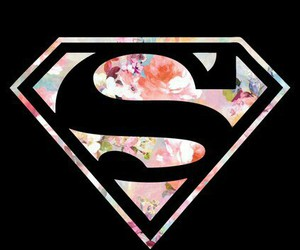 superman, pink, and wallpaper image