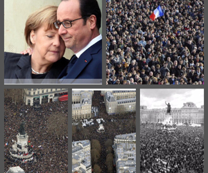 france, jesuischarlie, and charliehebdo image