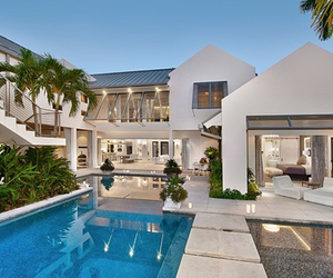 luxury, pool, and architecture image
