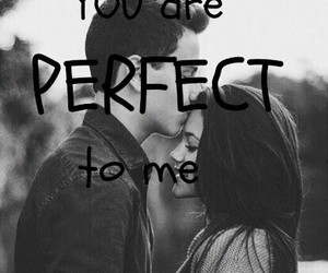 black&white, girl, and you are perfect to me image
