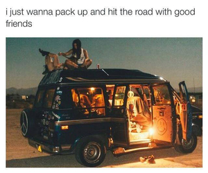 Road Trip, summer, and friends image
